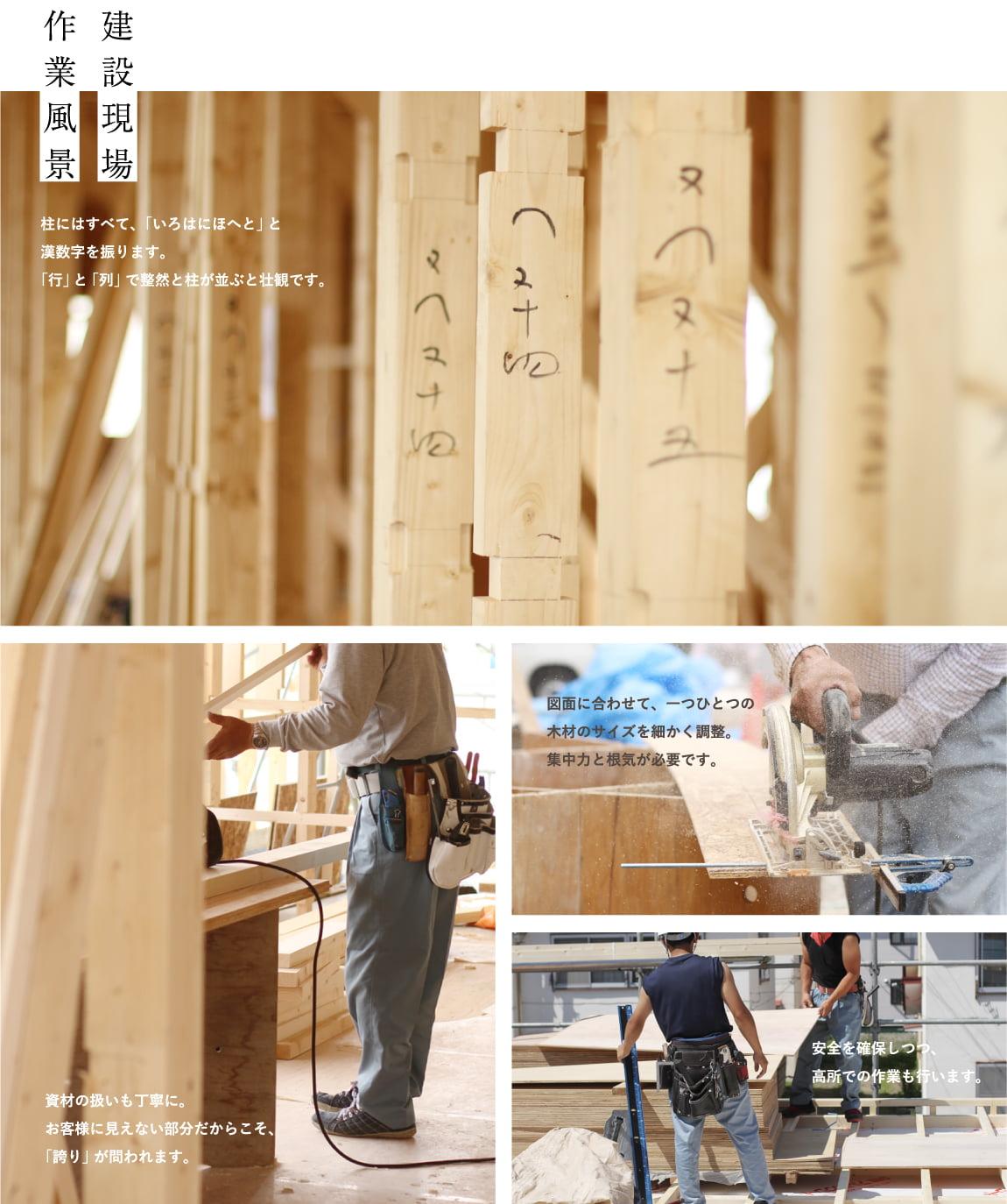 イメージ図/建設現場の作業風景